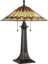 02-elstead - Lámpara de mesa Alcott, bronce