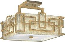 02-elstead - Lámpara de techo Lanza bronce