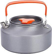 1.1 L Tetera de aluminio portátil Tetera de café