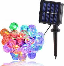 1.8CM burbuja solar Bombilla Cadena IPX4 lampara