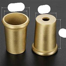 1 pieza de tubo de pierna de sofá taza de Metal
