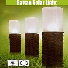 1 Uds IP44 impermeable con energía solar para