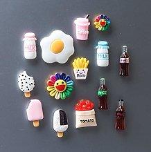 1 unidad mini huevos tomates alimentos magnético