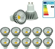 10 x LED COB Spot - Equivale 20W Halógeno -
