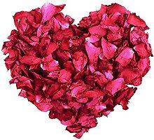 100 g de pétalos de rosa secos naturales, color