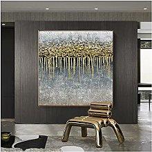 100% Pintado A Mano Obras De Arte Decorativas