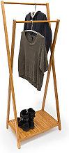 10019032 - Perchero con zapatero, 156 x 56.5 x 40
