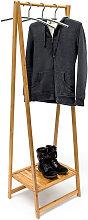 10019033 - Perchero con zapatero, 158,5 x 51 x