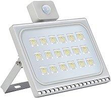 100W Foco Exterior LED con Sensor de Movimiento