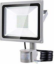 100W Foco LED con Sensor Movimiento, IP65