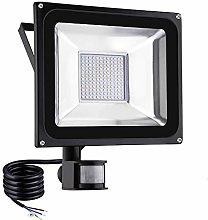 100W Foco LED Exterior Movimiento, IP65
