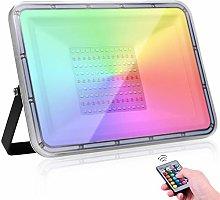 100W Foco Led RGB Con Función de Memoria,