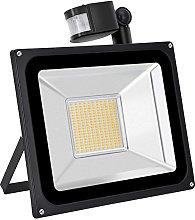 100W LED Foco Exterior, Blanco Cálido Proyector