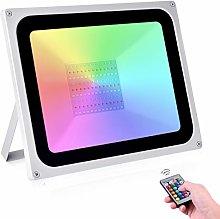 100W RGB Foco LED 16 Colores y 4 Modos IP65