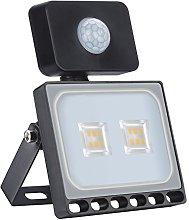 10W Foco LED con Sensor de Movimiento, Proyector