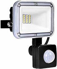 10W Foco LED con Sensor Movimiento, IP67