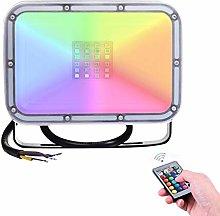 10W Foco LED RGB de Exterior, Yuanline Foco RGB