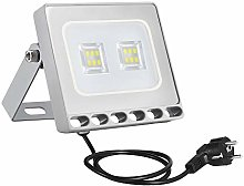 10w Foco Proyector LED Ultra Plano para exterior,