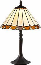 13-luminaire Center - Lámpara de mesa Tiffany