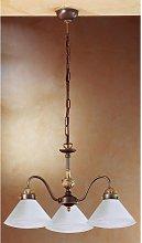 14-kolarz - Elegante candelabro de latón antiguo