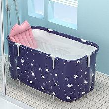 140x55x50cm bañera sauna adulto bañera plegable