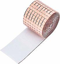 1464pcs / roll etiqueta de la pared Espejo