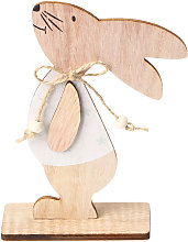 1PC adornos de madera Tabla Conejos de conejito de