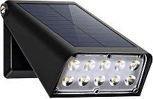 1pcs Foco solar 10 LED Luz de punto solar plegable