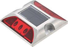 2.5V 2W 6 LED Solar lampara accionada Camino de