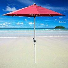 2.7m Patio Parasol Sombrilla Al Aire Libre Garden