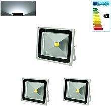 2 Foco proyector LED reflector faro lámpara