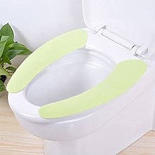 2 pares de cojines suaves para asiento de baño,