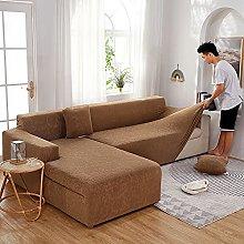 2 pcs fundas de sofa en L seccional mejoradas para