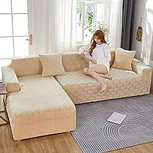 2 pcs fundas de sofa en L seccional para perros