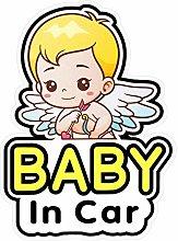 2 Pegatinas Señales y Calcomanías de Baby in Car