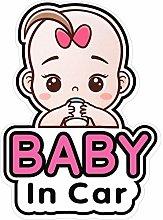 2 Pegatinas Señales y Calcomanías de Baby in