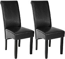 2 sillas de comedor ergonómicas - sillas para