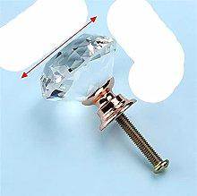 20 mm 30 mm Perillas de vidrio de cristal de