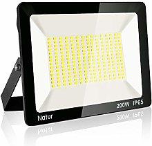 200W LED Foco Exterior, Proyector Foco Led Blanco