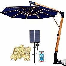 2021 nuevas luces de sombrilla de patio, con