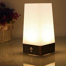 20LM Sensor de movimiento LED Lámpara de mesa Luz