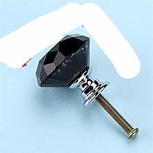20mm 30mm Perillas de cristal de diamante de