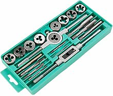 20pcs Imperial Tap and Die Set Tornillo Rosca Tap