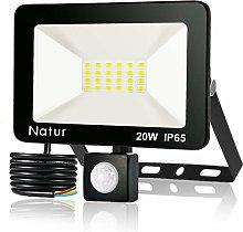 20W Foco LED con Sensor de Movimiento, Proyector