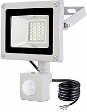 20W Foco LED con Sensor Movimiento, IP65