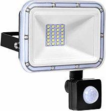 20W Foco LED Exterior con Sensor Movimiento, IP67