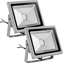 20W Foco LED RGB de Colores, Focos LED Exterior