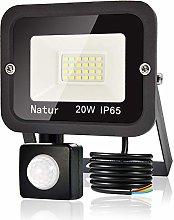 20W LED Foco Exterior con Sensor Movimiento, bapro