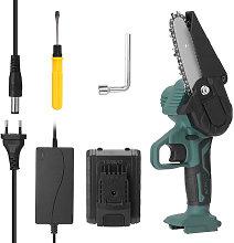 21V portatil sierra Mini electrico recargable poda