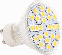 24 SMD 5050 Lampara de luz LED Bombilla Foco 5W